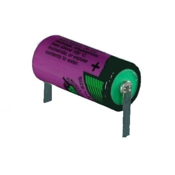 """Tadiran SL750 (LS14250) 3,6V lithium elem 1/2 ceruza (1/2AA)  """"U""""forrfüllel"""