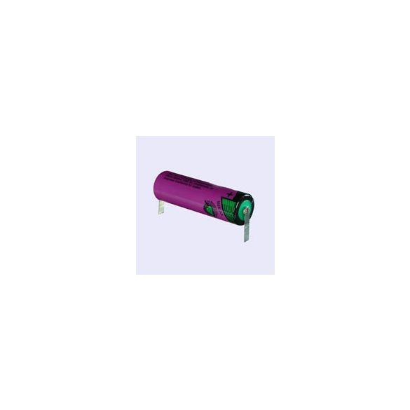 """Tadiran SL760/T lithium(Li-SOCL2) 3,6V elem ceruza (AA)""""U"""" forrfüllel"""