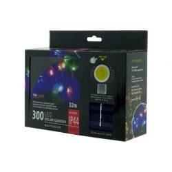 TRIXLINE karácsonyi fényfüzér TR349 SOLAR 300 LED 32 méter,színes,kültéri