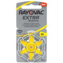 1,45V Varta Rayovac Acoustic hallókészülék elem 10 (PR70)bl/6