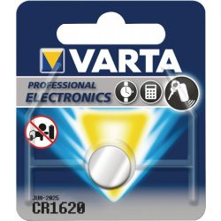 Varta CR1620 lithium gombelem 3V bl/1