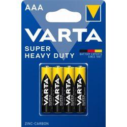Varta Superlife AAA féltartós mikró elem (R03) bl/4