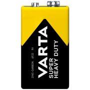 Varta Superlife 9V-os féltartós elem (6F22) fólia