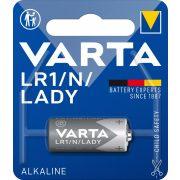 Varta LR1 Professional lady elem 1,5V-os(N) bl/1