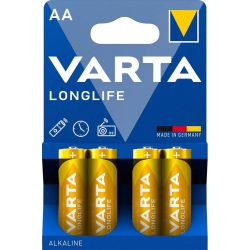 Varta Longlife AA ceruza elem (LR6) bl/4