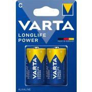 Varta Longlife Power (High Energy) C baby elem (LR14) BL/2
