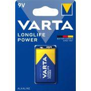 Varta Longlife Power (High Energy) 9V elem (6LR61) bl/1