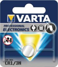 3V Varta lithium gombelem CR1/3N bl/1