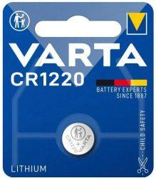 3V Varta lithium gombelem CR1220 bl/1