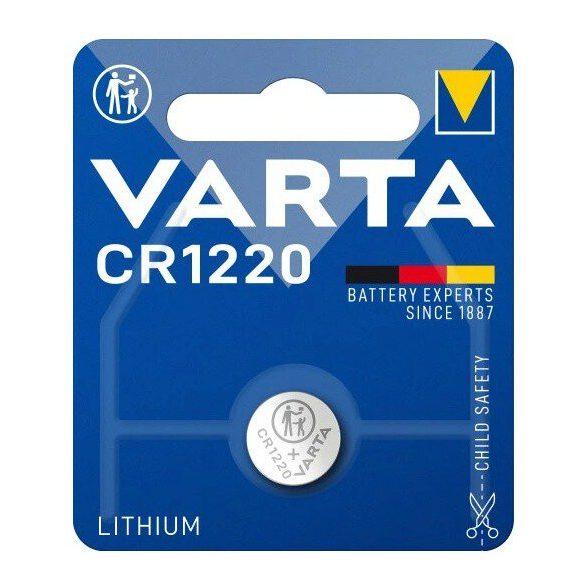 Varta CR1220 lithium gombelem 3V bl/1