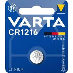 Varta CR1216 lithium gombelem 3V bl/1