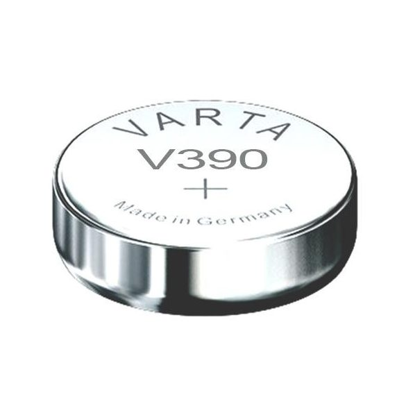 1,55V Varta ezüst oxid gombelem V390 SR54 bl/1