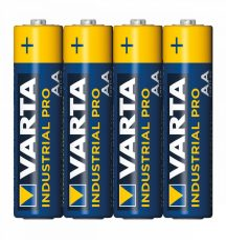 VARTA INDUSTRIAL AA,LR6 alkáli elem (ceruza) fólia/4