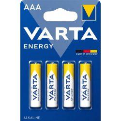 Varta Energy AAA mikró (LR03) elem bl/4