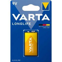 Varta Longlife 9V elem BL/1