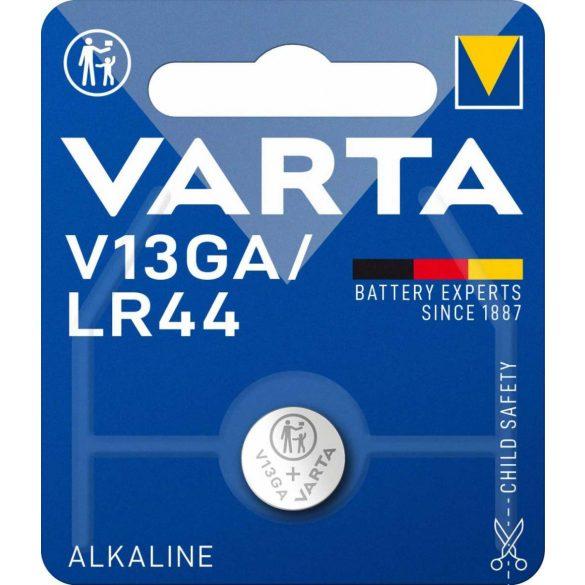 Varta V13GA,LR44 alkáli gombelem bl/1 (4276)