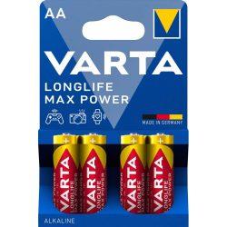 Varta Longlife Max Power AA ceruza elem (LR6) bl/4