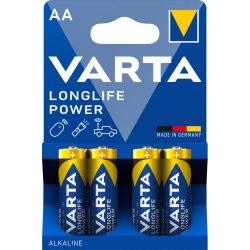 Varta Longlife Power (High Energy) AA ceruza elem (LR6) BL/4