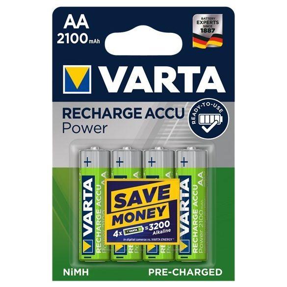 Varta Ready2Use  NI-Mh akku AA (HR6) 2100 mAh bl/4 56706