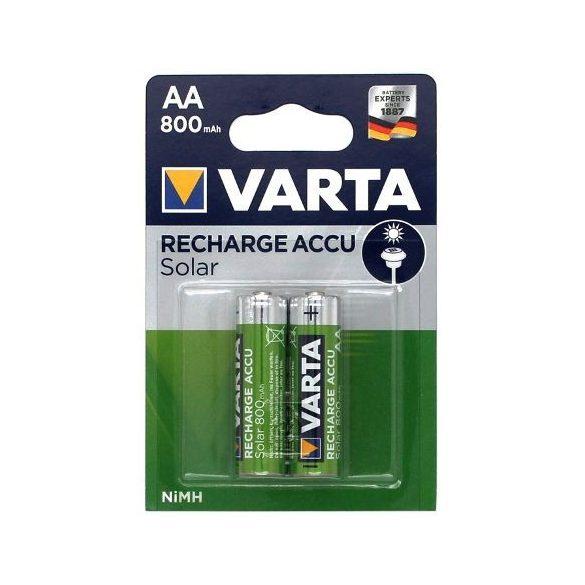 VARTA 800 mAh AA NI-Mh akku Solar (HR6) bl/2