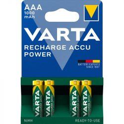 VARTA  NI-Mh akku Ready2Use mikró AAA (HR3) 1000 mAh bliszteres/4 (Power)