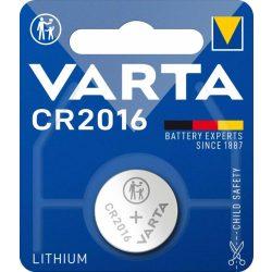 Varta CR2016 lithium gombelem 3V bl/1