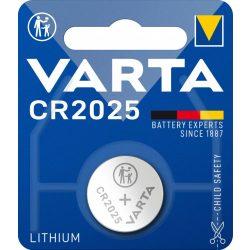 Varta CR2025 lithium gombelem 3V bl/1