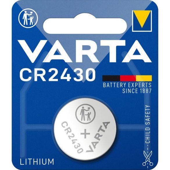 Varta CR2430 lithium gombelem 3V bl/1