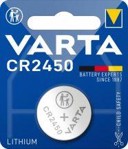 Varta CR2450 lithium gombelem 3V bl/1