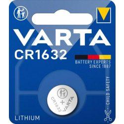 Varta CR1632 lithium gombelem 3V bl/1