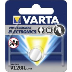 Varta V12GA,LR43 alkáli gombelem bl/1 (4278)