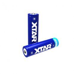 XTAR 18650 Li-ion akku védelemmel,2200mAh