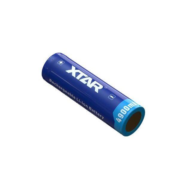 XTAR 21700 Li-ion akku védelemmel,4900mAh