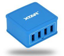 XTAR 4U USB töltő 4 csatornás, 5,4A