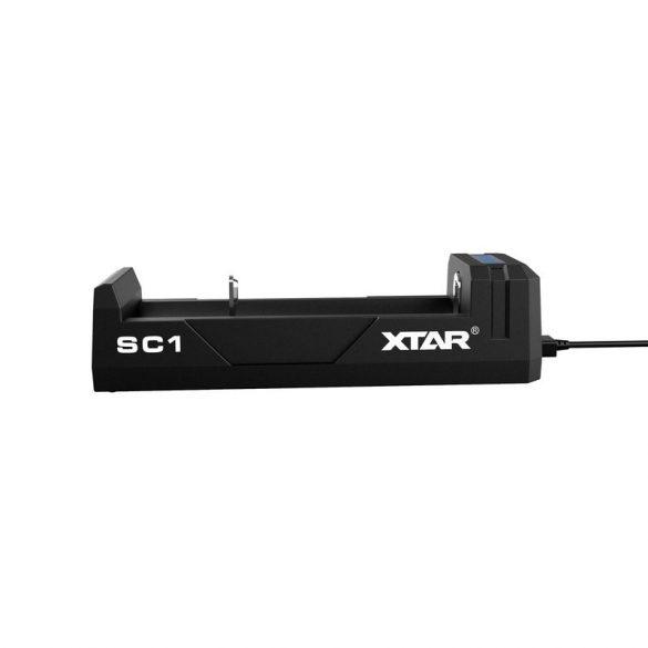 XTAR SC1 akkutöltő 1db lithium akkuhoz