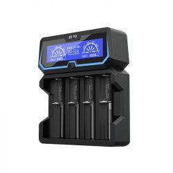 XTAR X4 akkutöltő 4db akkuhoz (Li-ion,Ni-Mh,Ni-Cd)+USB 1A