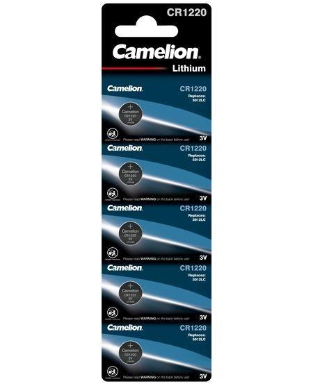 3V-os Camelion CR1220 lithium gombelem bl/5