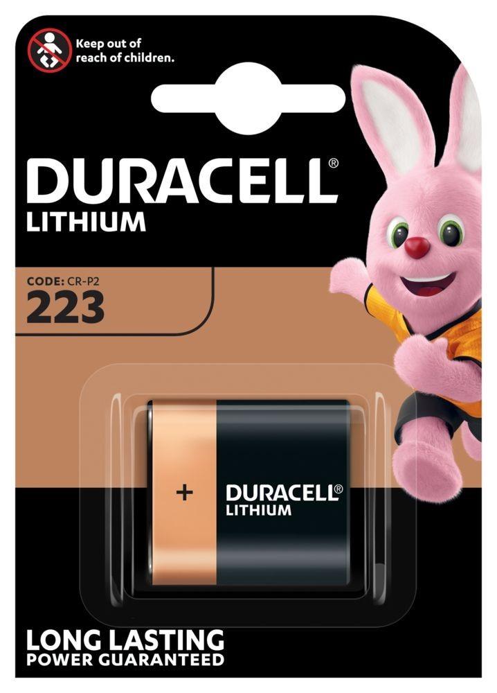 Duracell CRP2 (223) 6V-os lithium elem, bl/1