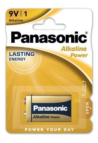 Panasonic ALKALINE(Bronze) Power 9V-os alkáli elem 6LR61 bl/1