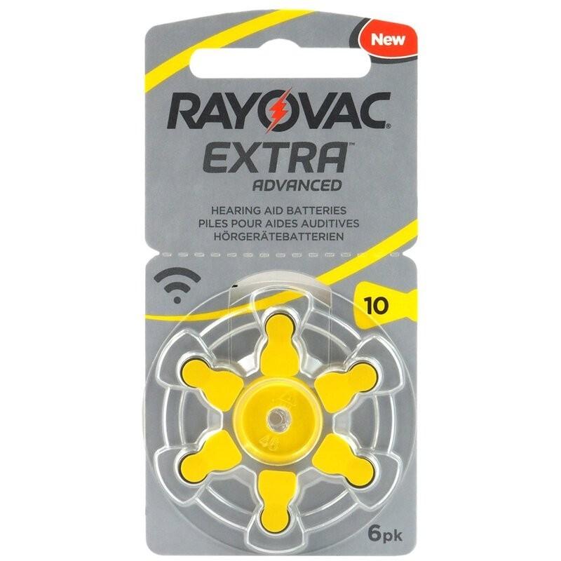 Image of 1,4V Varta Rayovac Acoustic hallókészülék elem 10 (PR70)bl/6